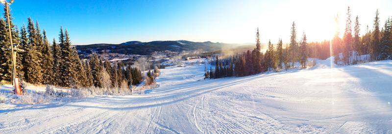 skitur til sverige